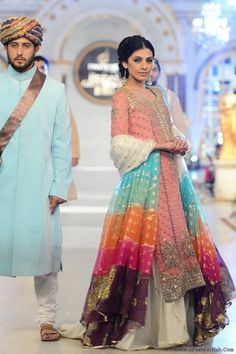 Gorgeous Fahad Hussayn Collection 2014, Bridal Dresses
