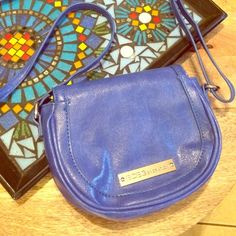 Gently Used BCBGeneration Blue Crossbody Bag This is super cute and barely every used! Wear it on the go or for a night out. Royal blue color with only gentle wear. BCBGeneration brand. This is a small crossbody that opens from the back flap so you can rest assured your valuables are safe. Material: 100% polyurethane, lining: 100% polyester. 271215b3gwa BCBGeneration Bags Crossbody Bags