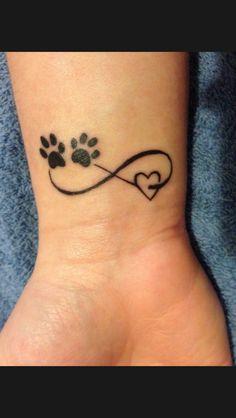 Love paw infinity