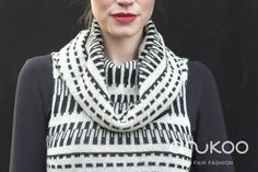 anukoo tunic black and white, alpaca wool Fall Winter, Autumn, Alpaca Wool, Winter Collection, Tunic, Black And White, Crochet, Fashion, Black White