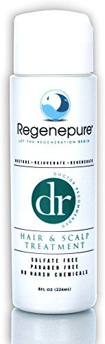 Regenepure - DR Shampoo, Hair and Scalp Treatment, Supports Hair Growth, 8 ounces ** Read more @