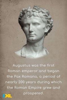 The first Roman emperor Augustus was born #OnThisDay in 63 BC! #TBT Learn more about the Roman Empire with this IXL skill. Emperor Augustus, Pax Romana, 6th Grade Social Studies, Roman History, Roman Emperor, Study Skills, Throwback Thursday, Change The World, Fun Facts