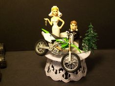 Dirt Bike Grooms Cake With A Little Quot Mud Quot On The Wedding