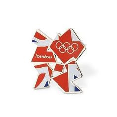 Official 2012 Logo Pin Badge - by London 2012 Pin Badges. Official 2012 Logo Pin Badge -.