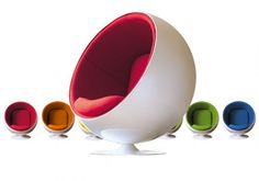 Interior Trade Furniture is best online retailer of eero aarnio style ball chair new for sale in amazing price. Ball Chair, Egg Chair, Swivel Chair, Vintage Furniture Design, Modern Furniture, Industrial Furniture, Salon Chairs For Sale, Flower Power, Living Room Trends