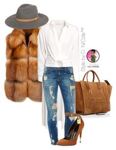 """Untitled #2872"" by stylebydnicole ❤ liked on Polyvore featuring H&M and Tom Ford"