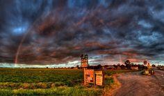 Rainbow Over Wright's Farm | by Paul Hollins