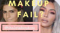 KKW Peachy Pink Eyeshadow | Makeup Tutorial | thaleiaboukou