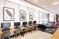 CDS Portfolio - Salford University - Allerton Cafe | Herringbone carpet | Cafe Interior design | Catering Design | Internet cafe | Computer Cafe