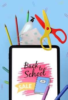 Graphic Designer Desk, Back To School Stationery, School Supply Labels, Mother's Day Mugs, Back To School Sales, Christmas Templates, Graphic Design Templates, Banner Template, Stationery Design