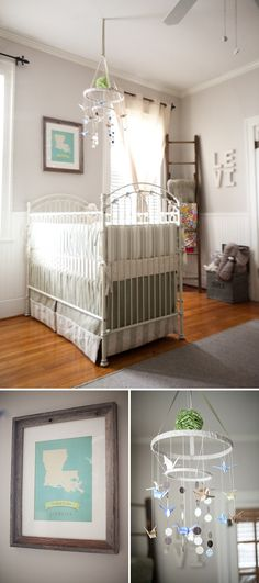 love EVERYTHING about this nursery. I love the fact that it's not pink or blue. I like the neutral color stuff.