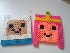 Adventure Time Coaster set! Finn the Human and Princess Bubblegum. So cute, so cheap, SO SPICE!