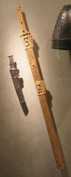late period Sassanid sword and dagger