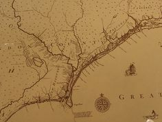 Early Map | Cape Fear River, with property owners. | leep | Flickr