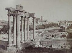 Rome, View of the Forum Romanum 1853 (ca)
