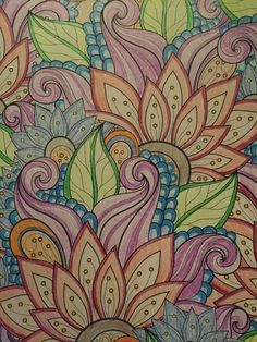 Grown up coloring books I would love to have this as a sleeve.