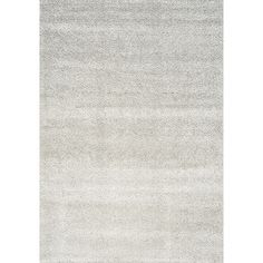 Kalora Boulevard Glitz Low Pile Light Grey Area Rug | AllModern