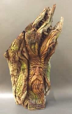 A personal favorite from my Etsy shop https://www.etsy.com/listing/286983751/hand-carved-original-massive-rustic