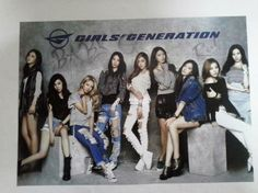"""Girls Generation 12 Posters Collection Bromide  Size : 30 X 42.5cm (11.8 X 16.8"""" inch)  Great Quuality / Glossy Paper / 12 Posters   'Girl's Generation' of Korean POP Singer."""