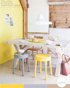 Kitchen Ideas: Decorating with Yellow – Bright.Bazaar