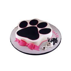 Cat Cake Paw Print CakesDog