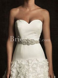 bridal sash belt