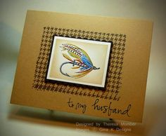 Fishing Fly by TheresaCC - Cards and Paper Crafts at Splitcoaststampers