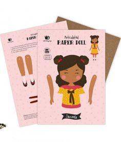 paper doll display jameela
