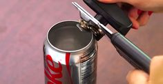 Three Genius Ways You Can Upcycle Aluminum Cans via LittleThings.com