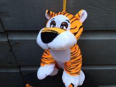Pluche tijgers 21 cm groot