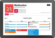 Check if medication is taken on time and trigger automatic reminders: https://sen.se/store/apps/medication/