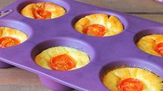 Ricotta Puff - savory version  Print These taste like the cheesy part of a lasagna or ravioli. I like to keep it clean and simple. Delicious with s