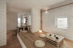 biicok: briques et blanc