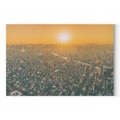 Városi naplemente