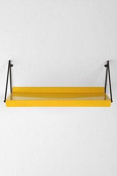 du jaune pour r veiller la d co on pinterest tour de lit origami and metal shelves. Black Bedroom Furniture Sets. Home Design Ideas
