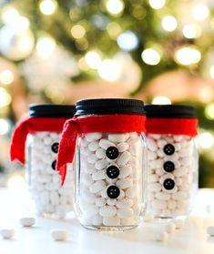 Quick and easy Mini Mason Jar Stocking Stuffer