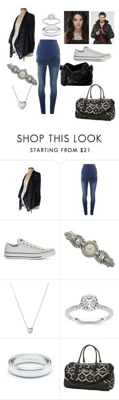"""""""Finding Henry"""" by melissa-bvb ❤ liked on Polyvore featuring Motherhood Maternity, Dorothy Perkins, Converse, Links of London, Modern Bride, Tiffany & Co. and Rip Curl"""