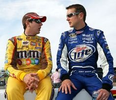 Kyle and Kurt Busch! Whiney Baby & Hothead :)