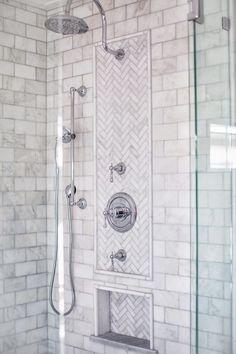 4 Prosperous Cool Tips: Large Shower Remodel bathroom shower remodel.Tub To Stand Up Shower Remodel fiberglass shower remodeling diy.Mobile Home Shower Remodel. Shower Tile, Marble Bathroom, Master Bathroom Shower, Marble Showers, Bathroom Makeover, Shower Stall, Bathroom Renovations, Bathroom Shower, Master Bathroom Makeover