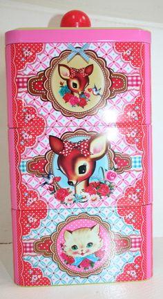 Super Cute Dumpling Dynasty by Fiona Hewitt Tiffin Tin or Accessories Tin | eBay