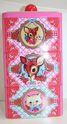 Super Cute Dumpling Dynasty by Fiona Hewitt Tiffin Tin or Accessories Tin | eBay