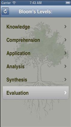Bloom's Taxonomy App (0.99)