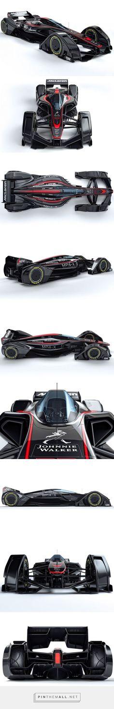 McLaren's MP4-X Formula One concept Pasa por marcasdecoches.org para saber más sobre las diferentes marcas de coches.