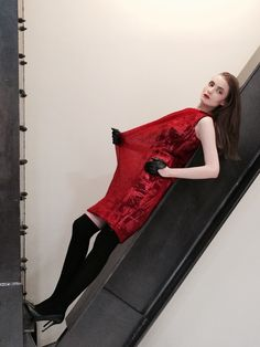 Red dress Red, Dresses, Vestidos, Dress, Gown, Outfits, Dressy Outfits