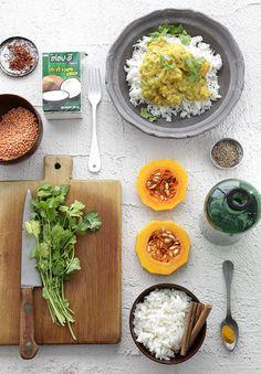 מתכונים טבעוניים לילדים - מתכוניישן דאל קארי Dahl - vegan dish for the kids!