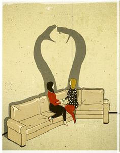 Art by Emiliano Ponzi. Pretty much describes women in general.