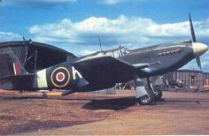 WWII 1940 - Royal Air Force (RAF) North American Mustang (Single-Engined Piston Fighter)