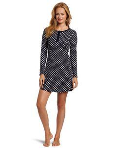 Nautica Sleepwear Women's Dot Chemise Waffle « Clothing Impulse