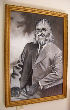 'Executive Wookiee' (Chewbacca / Star Wars)