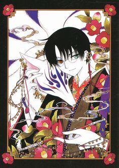 xxxHolic: Watanuki with the Pipe Fox Manga Girl, Girls Anime, Manga Anime, Anime Art, Manga Illustration, Illustrations, Digital Illustration, Monster Hunter, Clamp Manga